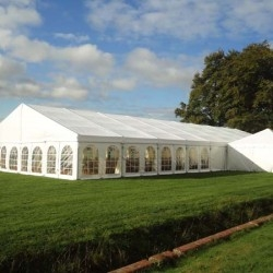 white tents tents